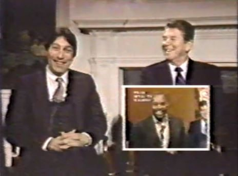 1983 NC State NCAA Basketball Champs talk to Pres Reagan via WRAL