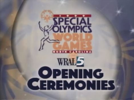 1999 Special Olympics World Games Opening Ceremonies