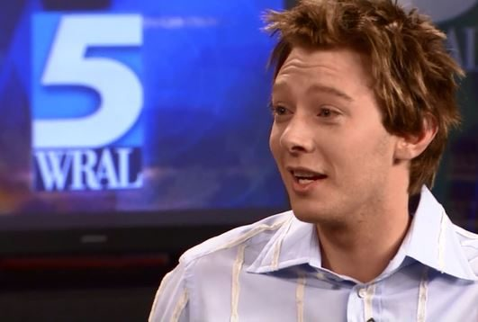 American Idol finalist Clay Aiken appears on WRAL Morning News