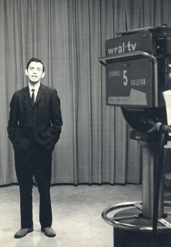 Bill Currie at WRAL-TV