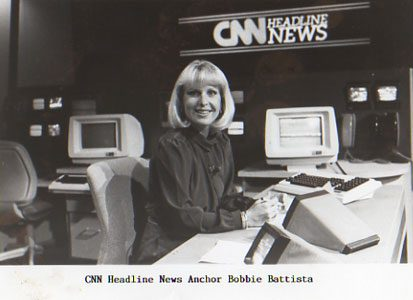Bobbie Battista at CNN