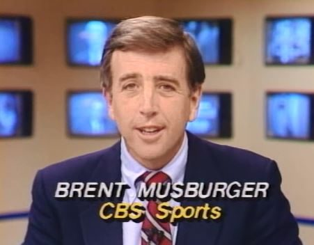 CBS Sports Anchor Brent Musburger subs for WRAL's Tom Suiter