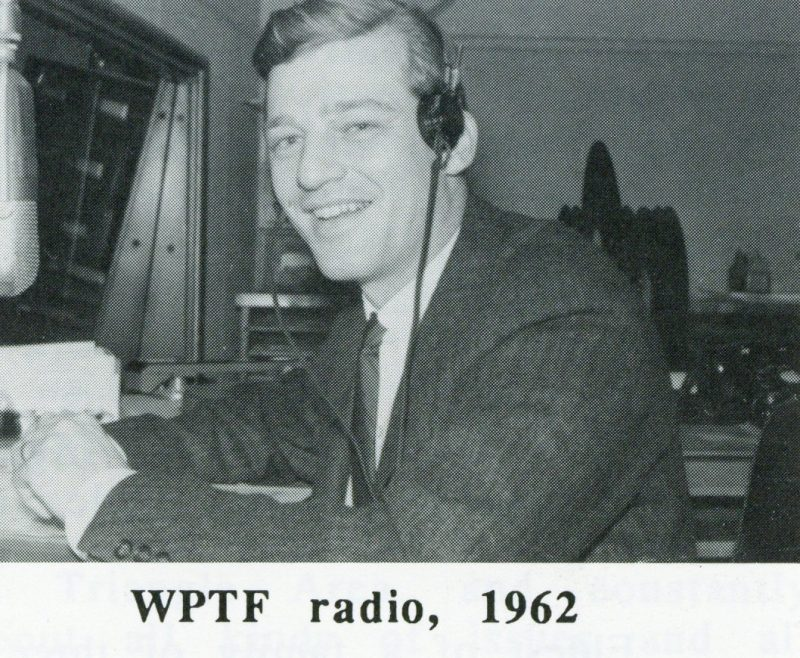 Charlie Gaddy during his radio days