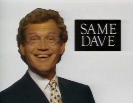 David Letterman promo LOVE SONGS