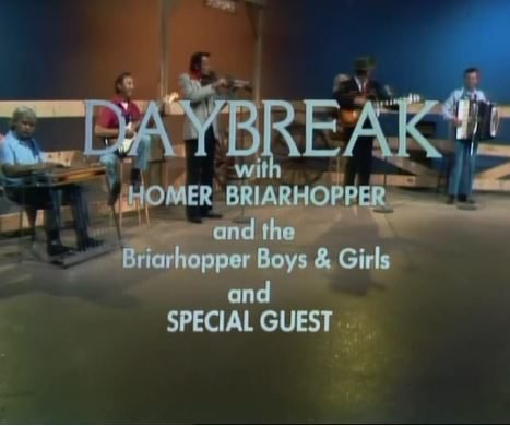 DAYBREAK with Homer Briarhopper