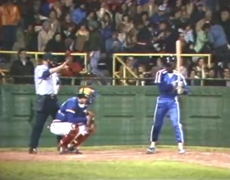 Durham Bulls Baseball Team Opening Night 1980