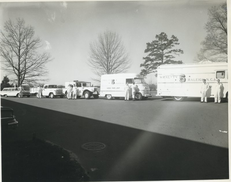 Early production truck fleet