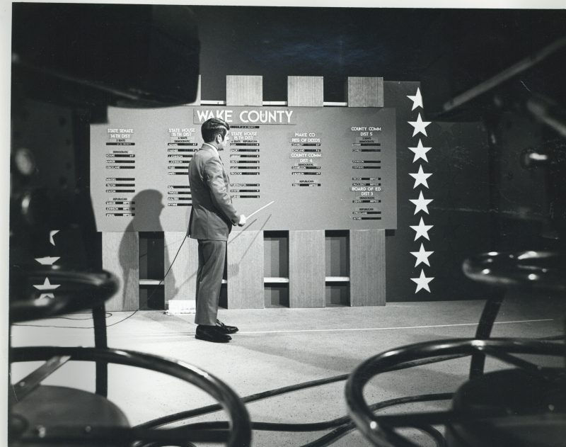 Election coverage for 1972 NC primary