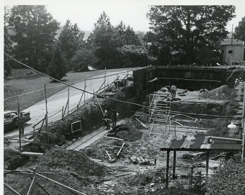 Excavation for WRAL Opera Auditorium