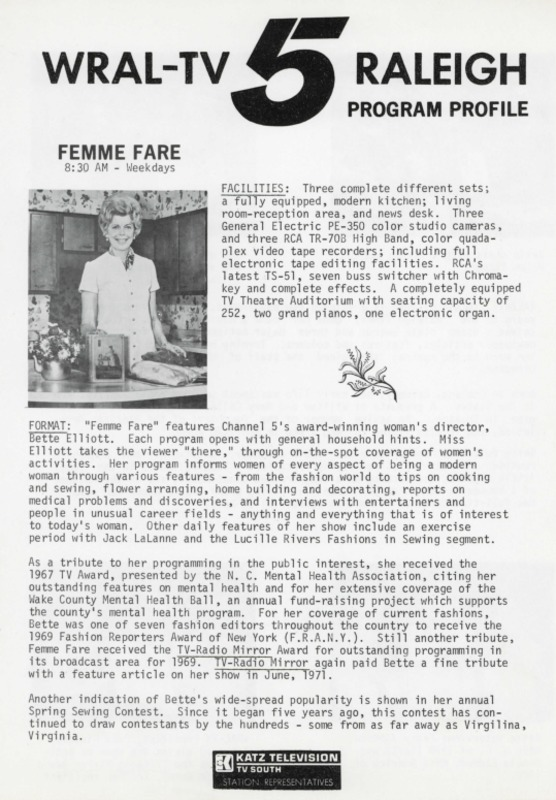 Femme Fare program profile