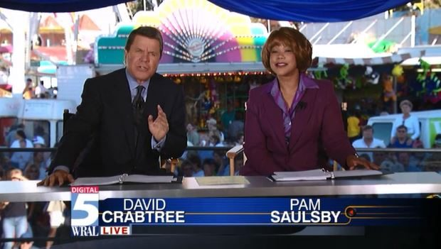 First LIVE HD Newscast from State Fair October 13 2000 (Short Version)