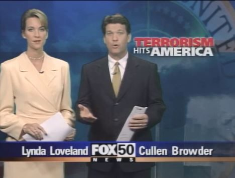 FOX 50 Newscast Sept 12 2001