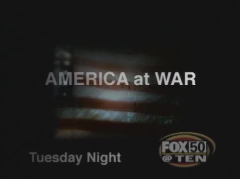 FOX50 America at War promo