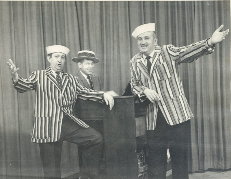 Fred Fletcher and gang perform for local show