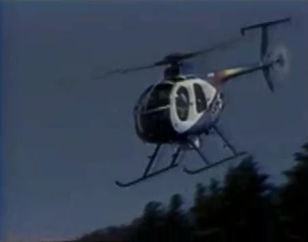 Helicopter rotation explained by SKY 5 pilot Frank Beall and Reporter Joe Oliver