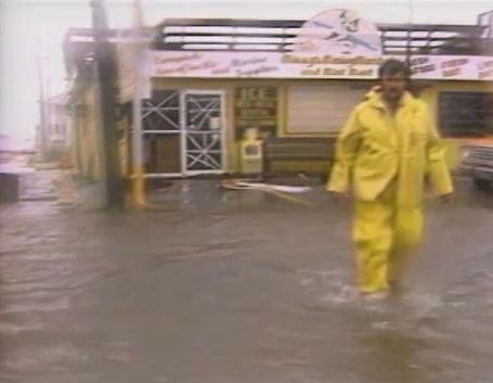 Hurricane Diana coverage Action News 5 1984