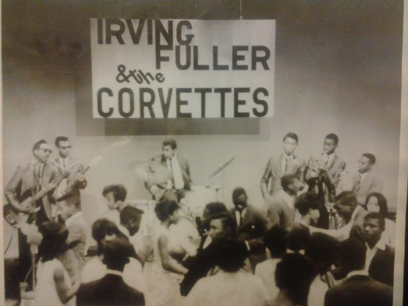 Irving Fuller and the Corvettes playing for dancers on Teenage Frolics