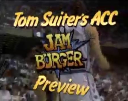 JamBurger ACC Basketball Preview December 1992