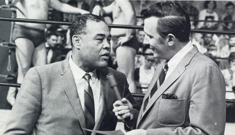 Joe Louis and Nick Pond