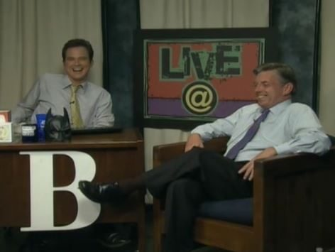 LIVE@ with host Brian Shrader and guest WRAL Chief Meteorologist Greg Fishel
