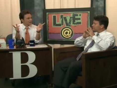 LIVE@ with host Brian Shrader and guest WRAL News reporter Cullen Browder