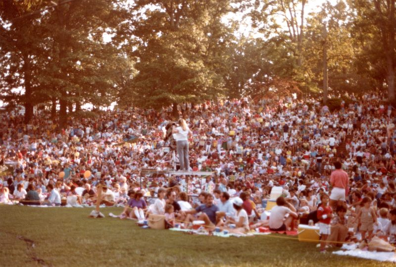 Pops in the Park 1982