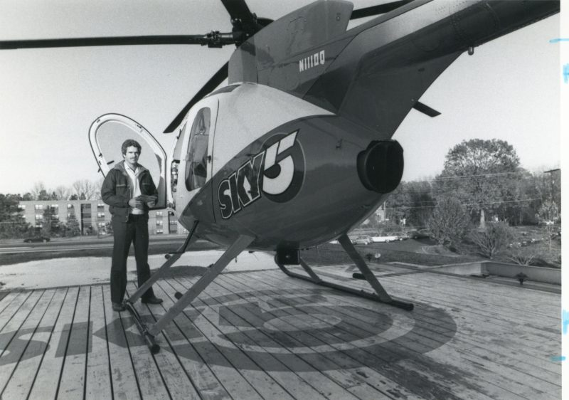 WRAL-TV Helipad