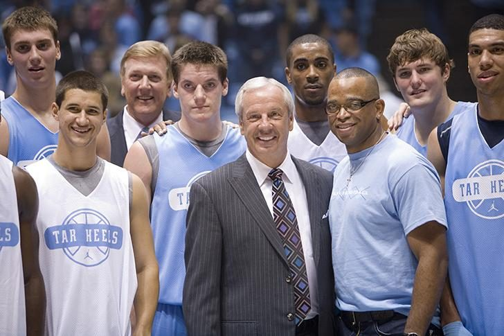 Stuart Scott with Tar Heels