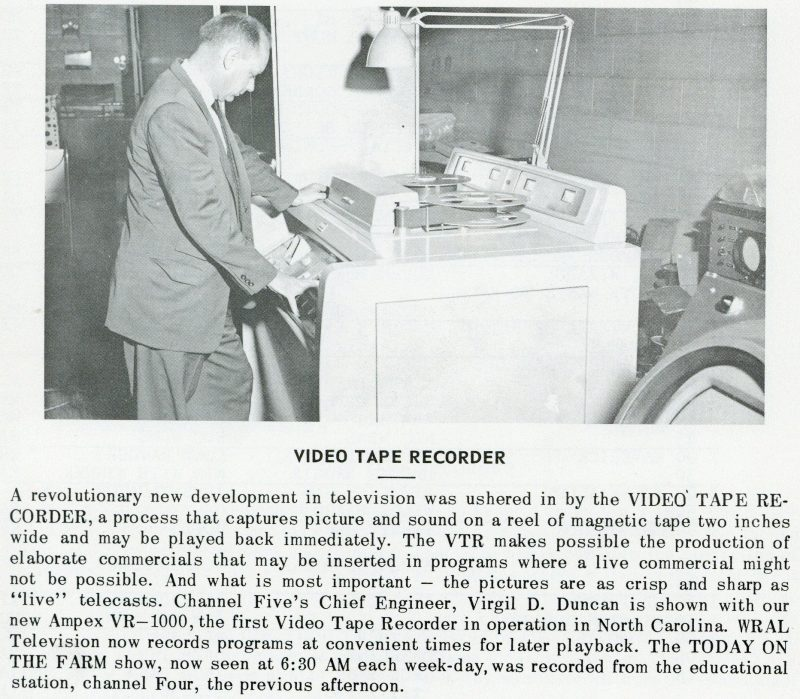 The Ampex VR-1000