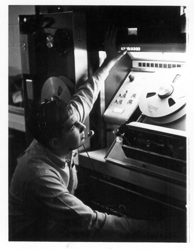 Videotape engineer 1965