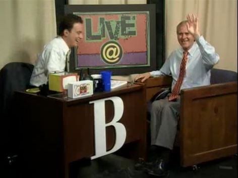 WRAL.com program LIVE@ with host Brian Shrader and guest WRAL sports anchor Tom Suiter