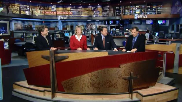 wral first hd newscast from the news set 2001
