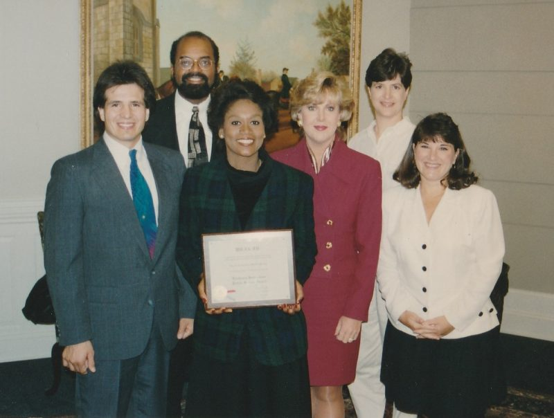 WRAL Health Team in 1995