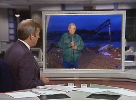 WRAL Morning Newscast coverage of tornado damage Nov 28, 1988