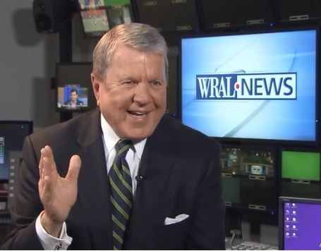 WRAL News anchor David Crabtree