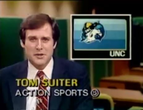 WRAL news coverage of UNC basketball championship 1982