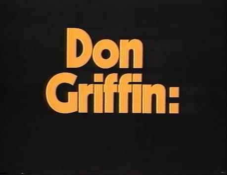 WRAL News reporter Don Griffin promo 1978
