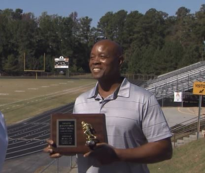 WRAL Sports 1st Extra Effort Award recipient HOWARD WATSON