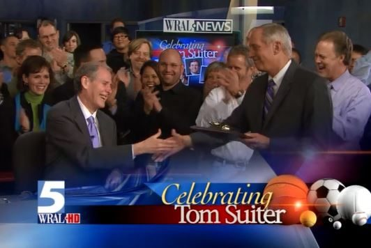 WRAL Sports anchor Tom Suiter's Last Sportscast Dec 18 2008