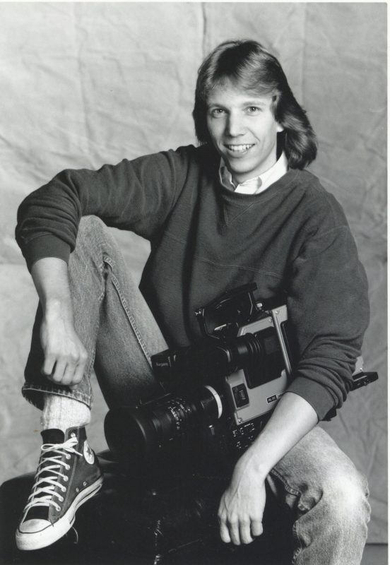 WRAL-TV photographer Art Howard