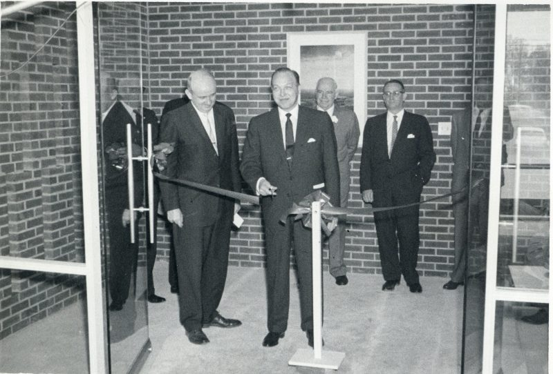 WRAL-TV studio and office dedication