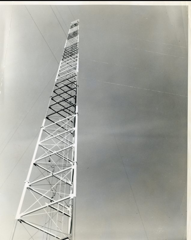 WRAL-TV Tower November 1956